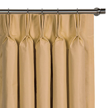 Edris Gold Curtain Panel