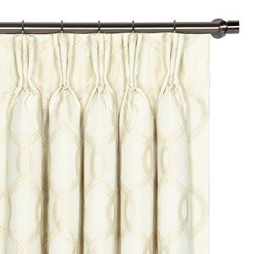 Gresham Snow Curtain Panel