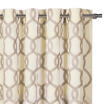 Gresham Suede Curtain Panel