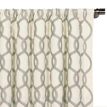 Gresham Gray Curtain Panel