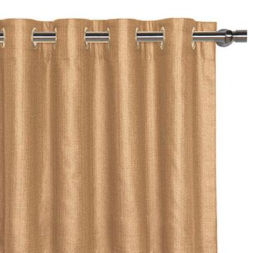 Meridian Cashew Curtain Panel