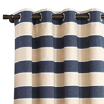 Abbot Indigo Curtain Panel