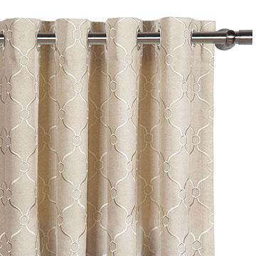 Theodore Linen Curtain Panel