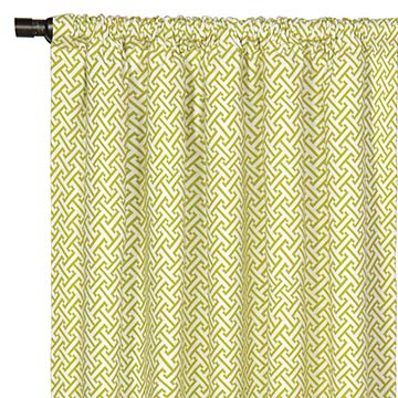 Chive Sparrow Curtain Panel
