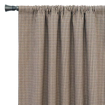 Aiden Houndstooth Curtain Panel