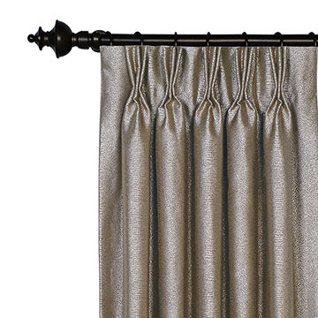 Dunaway Umber Curtain Panel