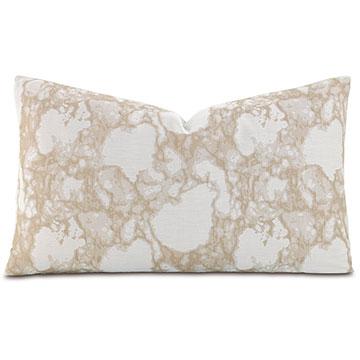 Lagos Sand Oblong Accent Pillow