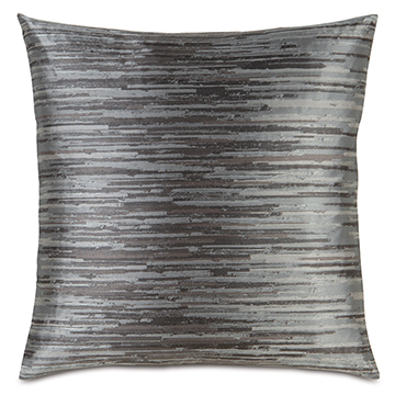 Horta Pewter Accent Pillow