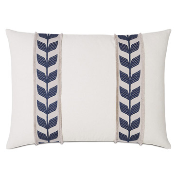 Akela Leaf Decorative Pillow In Blue