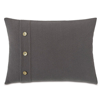 Bozeman Charcoal With Buttons