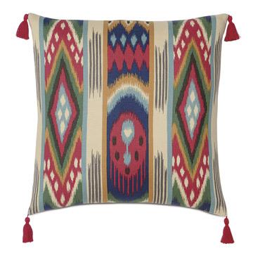 Akela Tassel Decorative Pillow