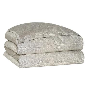 Ezra Smoke Duvet Cover and Comforter