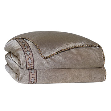 Dunaway Umber Duvet Cover and Comforter