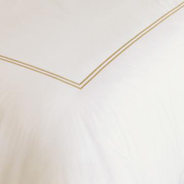 Enzo Ivory/Antique Duvet Cover