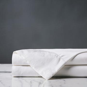 Millefleur White Flat Sheet