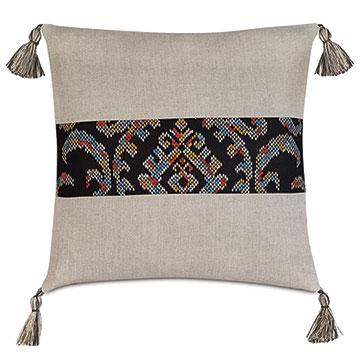 Freya Tassel Decorative Pillow