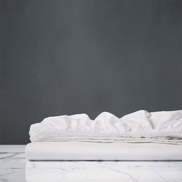 Nuvola Classic White Fitted Sheet