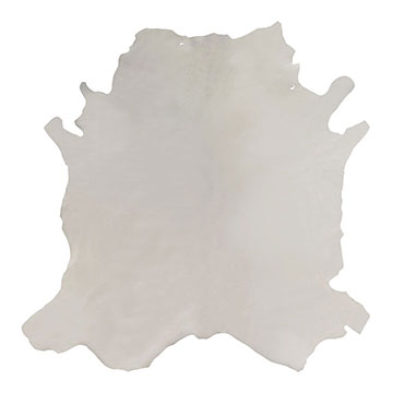 Tudor Vanilla Leather Hide Full