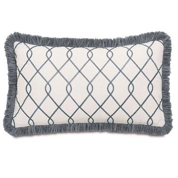 Terrace Grey With Brush Fringe
