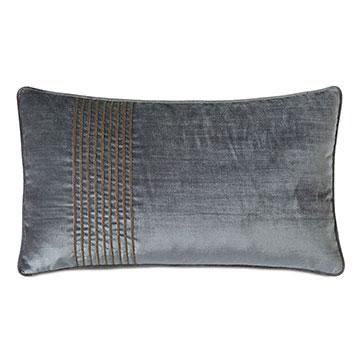Indochine Trim Stripe Decorative Pillow