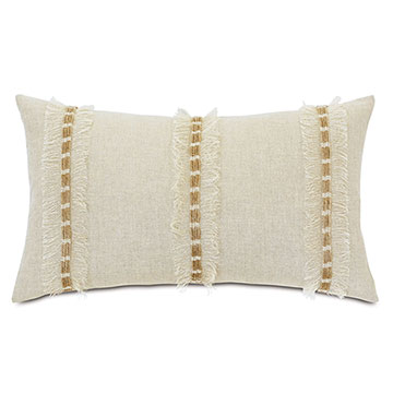 Kimahri Fringe Decorative Pillow