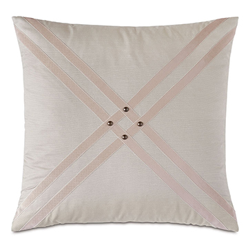 Maddox Nailhead Decorative Pillow
