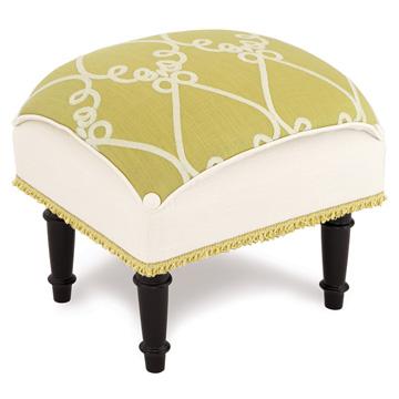 Etta Lime Pillow Top Stool