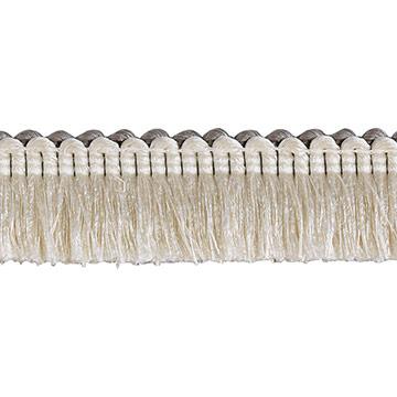 Brush Fringe Ezra A (Ivory)