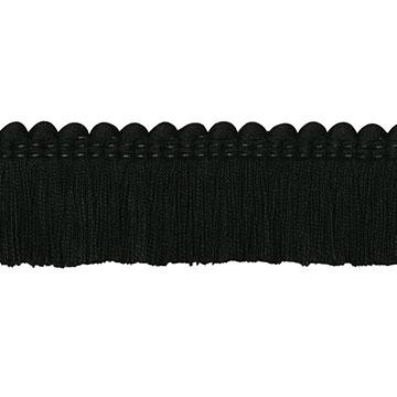 Brush Fringe Ravensmoor B (Black)