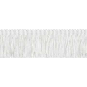 Brush Fringe White