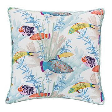 Paloma Tropical Decorative Pillow