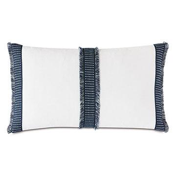 Saya Woven Tape Decorative Pillow