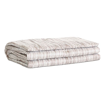 Horta Putty Bed Scarf