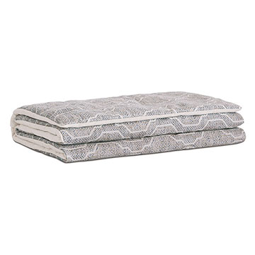 Safford Ogee Bed Scarf