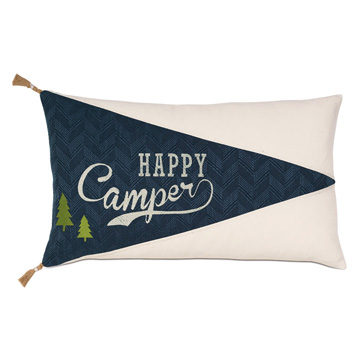 Happy Camper Embroidered