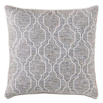 Safford Ogee Decorative Pillow