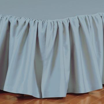 Fresco Classic Azure Ruffled Bed Skirt