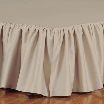 Fresco Classic Sable Ruffled Bed Skirt