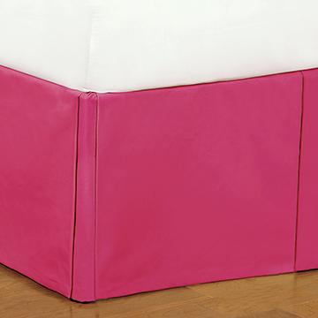 Decker Pink Bed Skirt