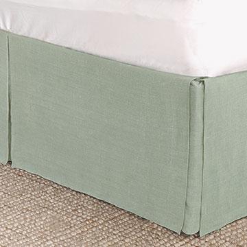 Resort Mint Bed Skirt