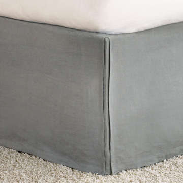 Shiloh Cement Pleated Bed Skirt