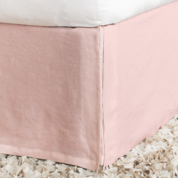 Shiloh Petal Pleated Bed Skirt