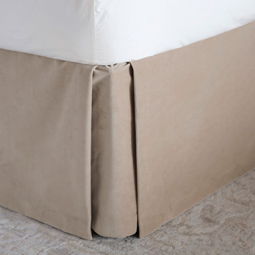 Safford Velvet Bed Skirt