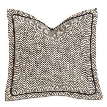 Steeplechaser Textured Decorative Pillow