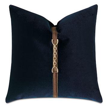 Steeplechaser Vertical Buckle Decorative Pillow