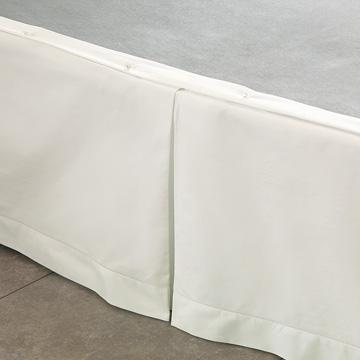 Gianna Classic Ivory Pleated Skirt Panels