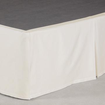 Fresco Classic Ecru Pleated Skirt Panels
