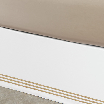 Tessa White/Antique Skirt Panels