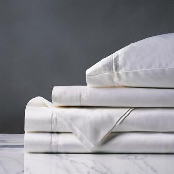 Lusso White Sheet Set