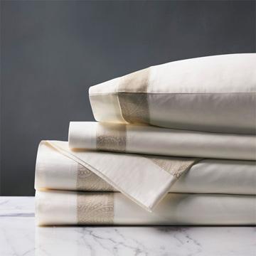 Cornice Ivory/Pearl Sheet Sheet